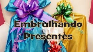 Embrulhando presentes