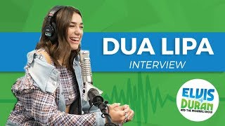 Video Dua Lipa on Touring with Bruno Mars, and Living Alone When She Was 15 | Elvis Duran Show MP3, 3GP, MP4, WEBM, AVI, FLV Oktober 2018