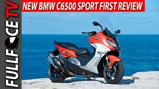 7. 2017 BMW C650 Sport Specs and Review