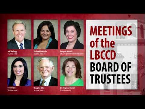LBCCD - Board of Trustees Meeting - April 27, 2018