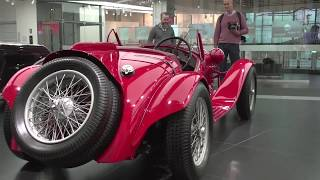 Date of broadcast: 03 May 2017We visit Alfa Romeo's official Museo Storico Alfa Romeo in Arese to have a look at some legendary Alfas in racing, road going, and concept guise.