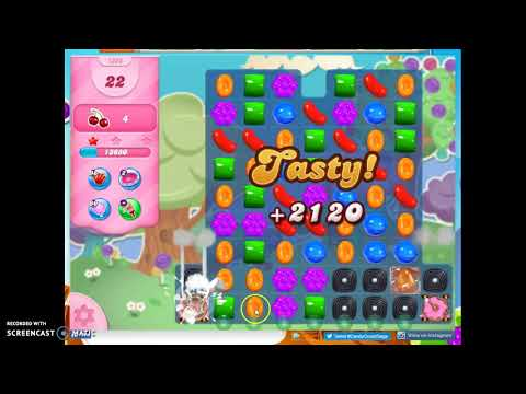 Candy Crush Level 1363 Audio Talkthrough, 3 Stars 0 Boosters