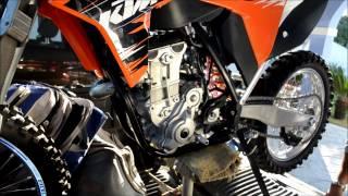 3. Primeiro minuto de vida de uma KTM SX-F 450 2011