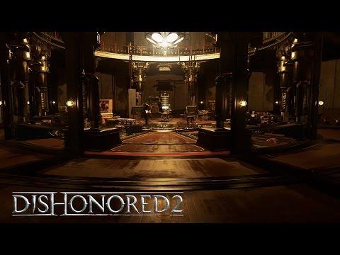 Dishonored 2 –Clockwork Mansion Gameplay Trailer(Low Chaos) PEGI