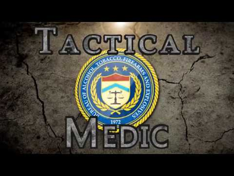 ATF Tactical Medic Training