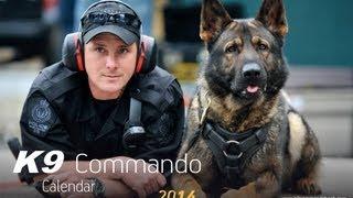 K9 Commando Calendar 2014