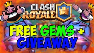 Clash Royale FREE gems giveaway road to 4k subscribers
