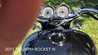 9. 2011 TRIUMPH ROCKET III ROADSTER ABS