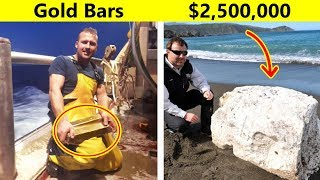 Video Lucky Fishermen Who Caught Things That Made Them Rich MP3, 3GP, MP4, WEBM, AVI, FLV Juli 2019