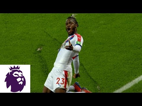 Video: Michy Batshuayi's deflection gives Palace a 1-0 lead v. Leicester City | Premier League | NBC Sports
