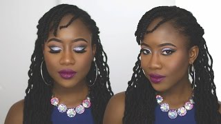 New Years Eve soon reach & I got you with this easy how to glitter cut crease makeup beauty look! SUBSCRIBE FOR NEW VIDEOS EVERY WEEK! https://goo.gl/6k6wM6 ...