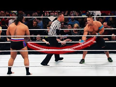WWE FULL MATCH: USA Title Russian Chain Match - John Cena vs Rusev