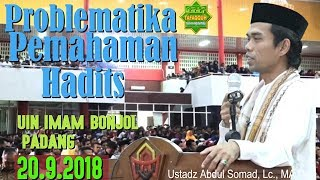 Video FULL || Tabligh Akbar di UIN Imam Bonjol Padang - Ustadz Abdul Somad, Lc. MA MP3, 3GP, MP4, WEBM, AVI, FLV Oktober 2018