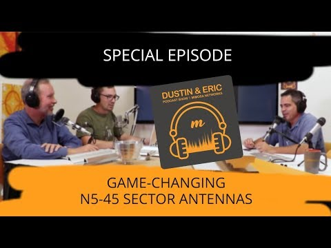 Mimosa Networks Podcast: Special Episode - N5-45 Sector Antennas