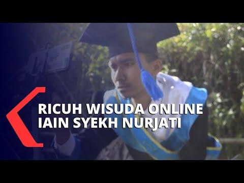 Ricuh Wisuda Online IAIN Syekh Nurjati Cirebon, Begini Protes Mahasiswa
