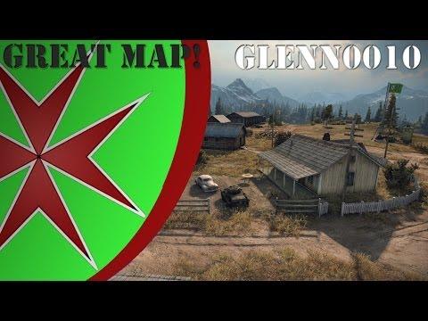 World of Tanks: Northwest Map review (8.9) - Glenn0010