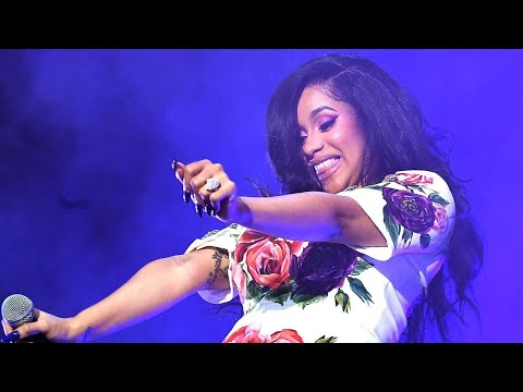Pregnant Cardi B Twerks to Celebrate Billboard Hot 100 Milestone
