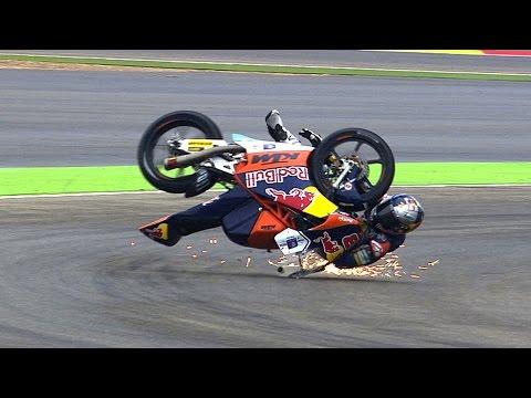 Moto3? Biggest crashes