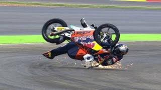Video Moto3™ 2014 Biggest crashes MP3, 3GP, MP4, WEBM, AVI, FLV November 2017