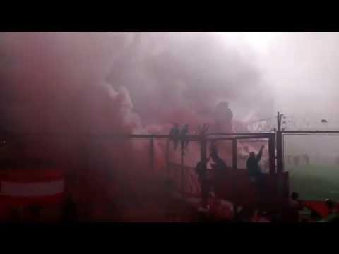 Recibimiento Clásico de Avellaneda 12/09/2015 - La Barra del Rojo - Independiente