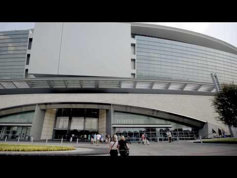 Tour the Dallas Cowboys Stadium