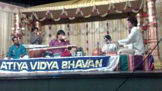 Tabla Solo Chandrajith Solo With Rajesh Vaidhya Veena Concert In Jan 2012