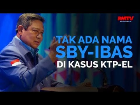 Tak Ada Nama SBY-Ibas Di Kasus KTP-El