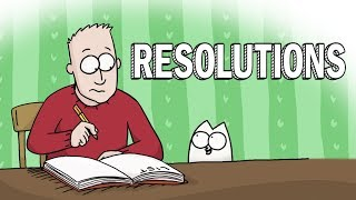 New Year Resolutions - Simon's Cat | GUIDE TO