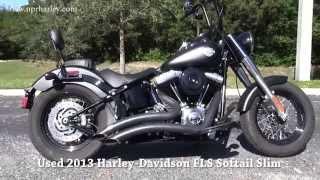 6. Used 2013 Harley Davidson FLS Softail Slim
