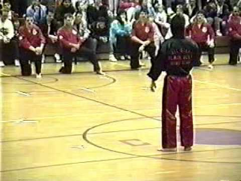 LaVallee's Karate - Black Belt Exam - May 18th, 1990 Part 1