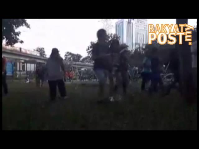 Wabak zombie menyerang Petaling Jaya?