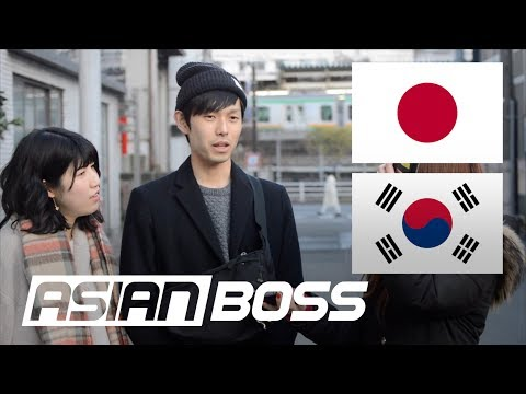How Do The Japanese Feel About South Korea (Part 1) | ASIAN BOSS