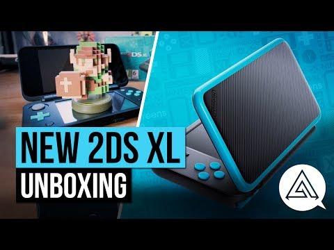 New Nintendo 2DS XL Unboxing & Size Comparison w/ 3DS & Switch
