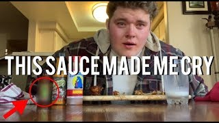 This Sauce Made Me Cry (Tasting Hot Ones Sauces)