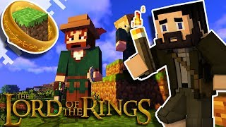 Lord Of The Rings Minecraft Adventure! :: Merchants And The Old Forest! :: EP04
