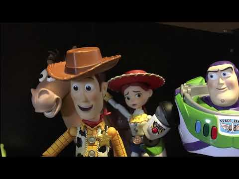 Video Woody and Buzz lightyear Spooky playtime! download in MP3, 3GP, MP4, WEBM, AVI, FLV January 2017