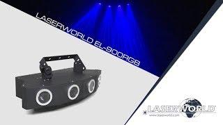 Laserworld EL-900RGB Showlaser mit 4 Laserausgängen