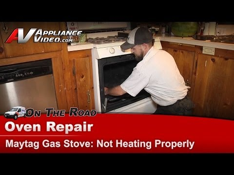 Oven Repair - Not Heating Correctly - Long Bake Times -Whirlpool , Maytag & KitchenAid