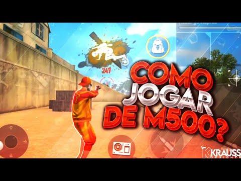 COMO DAR CAPA DE M500 NO FREE FIRE ? DICAS !