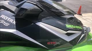 9. --------------- 2017 Seadoo GTR-X 230 ----------------