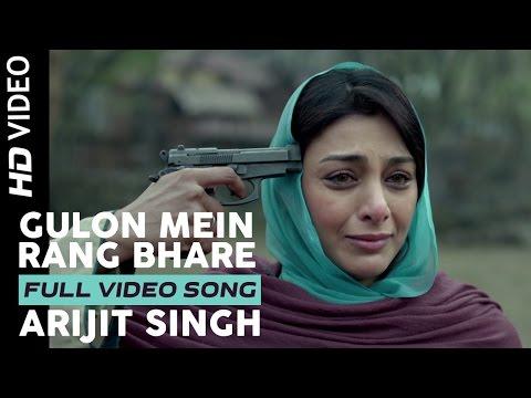 Gulon Mein Rang Bhare | Arijit Singh | Haider | Vi