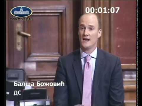 Балша Божовић на седници о амандманима на Предлог измена Закона о акцизама
