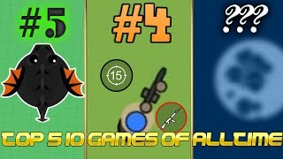 Top 5 Greatest IO Games Of Alltime!