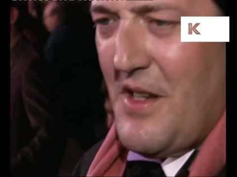 Stephen Fry at 1997 London Premiere