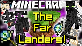 Minecraft THE FARLANDERS! Mysterious Visitors from The Far Lands!
