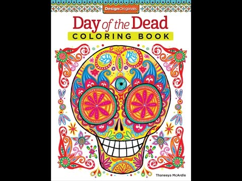 Day of the Dead Coloring Book Slideshow