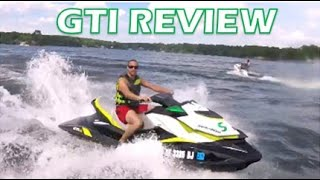 3. 2017 Sea Doo GTI 155 SE Review
