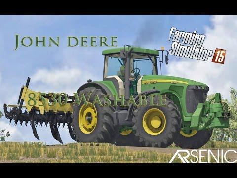 John Deere 8530 Washable  V1