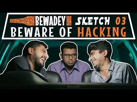 PDT Bewadey  Sketch 03 - Beware of Hacking  Indian Web Series  Comedy  Gaba  Pradhan  Johnny