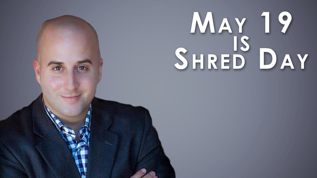 Join Us on May 19 for Shred Day